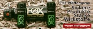 Vorteile von FOX Pfefferspray-Produkten